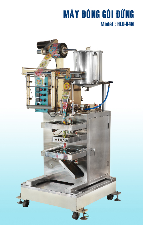MAY DONG GOI - HE THONG MAY DONG GOI-Vertical packaging machines - HLD 04N