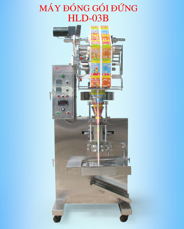 MAY DONG GOI - HE THONG MAY DONG GOI-Vertical packaging machines - HLD 03B